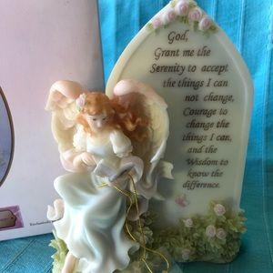 Roman seraphim angel – the serenity prayer